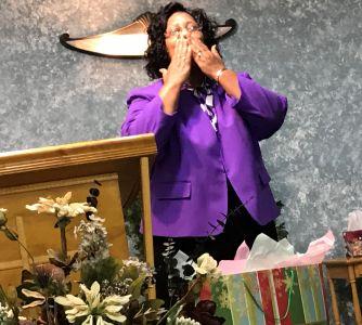 Kisses from Pastor Cooper