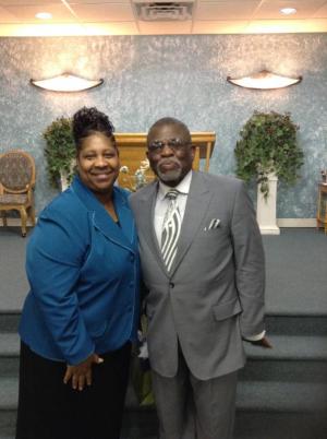 Pastor Cooper & Bishop Davis