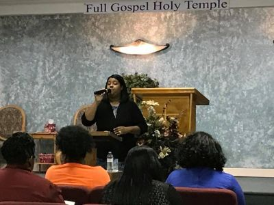 Co-Pastor Sherema Thompson Teaching at WC 2016